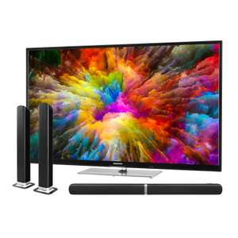 "MEDION 43""-UHD-Smart-TV ""X14305"" (HDR, Dolby Vision, 350 cd/m², Triple Tuner, PVR) + TV Soundbar ""E64058"" *versandkostenfrei* [MEDION]"