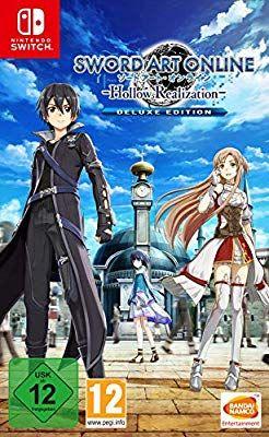 Sword Art Online: Hollow RealizationDeluxe Edition für 39,99€ & Crash Bandicoot für 27,99€ (Switch) [Amazon]
