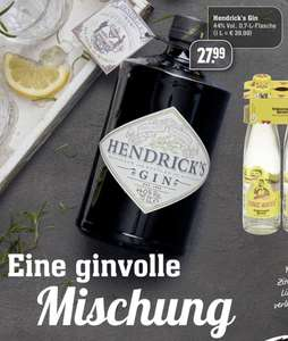 [EDEKA Center] Hendrick's Gin (1 x 0,7l)