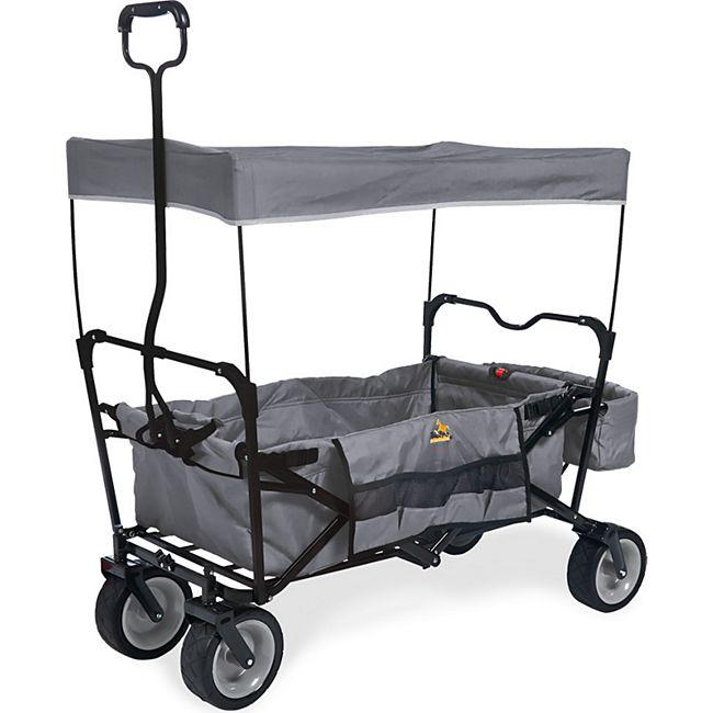 Pinolino Klappbollerwagen 'Paxi' grau 70 kg bei netto-online