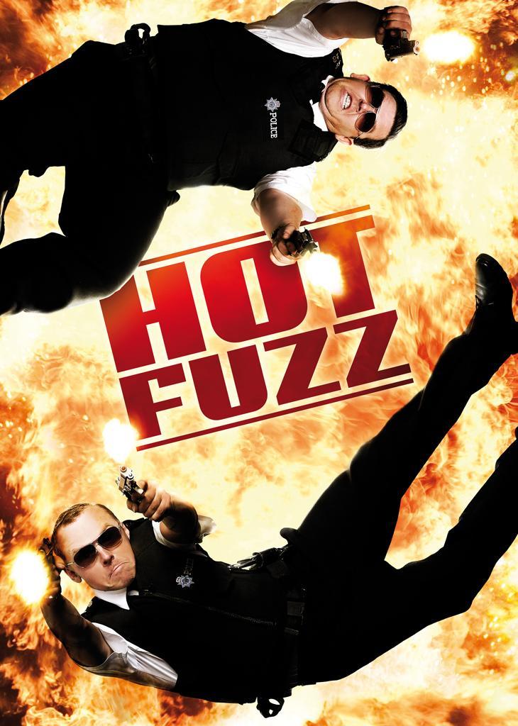 Hot Fuzz (Full HD) - Zwei abgewichste Profis kostenlos im Stream