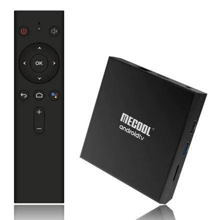 MECOOL KM9 Pro Classic Android TV Box Google Home, Google Cast, Google Assistant (alternativ zu Chromecast HDMI + MiBox S)