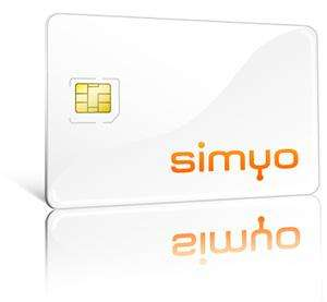 NEU: Simyo Prepaid SIM Karte inkl. 40 € Guthaben  GRATIS