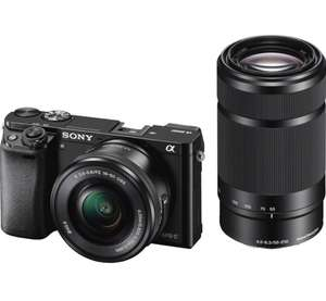 Sony Alpha 6000 Doppelzoom Kit 16-50mm + 55-210mm