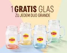[McCafé] Gratis Lipton Glas zu jedem McCafé Duo Grande