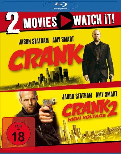 Crank 1+2 (Doppelset Blu-ray) für 8,97€ (Amazon)