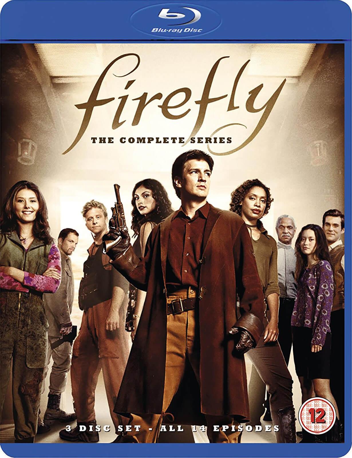 Firefly - Die komplette Serie (Blu-ray) 15th Anniversary Edition für 10€ inkl. Versand (Zavvi)