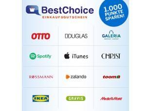 [Nur für AMEX Kunden] 30Euro BestChoice-Gutschein zum Preis von 25Euro(5000 MRP)