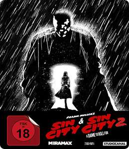 Sin City 1 & Sin City 2: A Dame to Kill For Limited Steelbook Edition (Blu-ray) für 11,97€ (Amazon Prime Day)