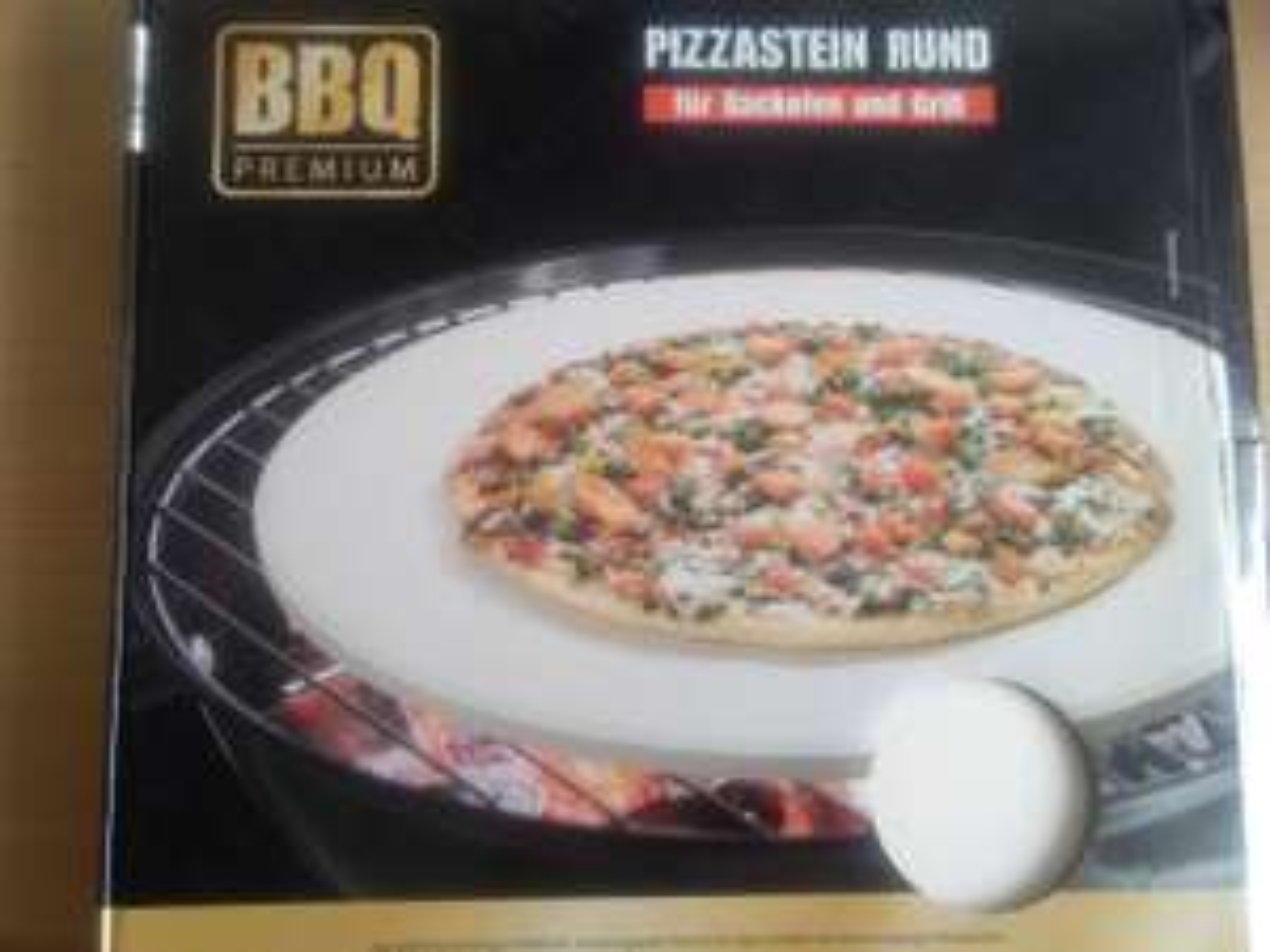 BBQ Premium Pizzastein Aldi Süd Troisdorf [ Lokal ? ]