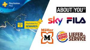 "PS Plus Rewards: z.B. 20% auf Serien bei Müller, 10€ About You-Gutschein, 15% bei FILA, oder ""Gamer Bundle"" bei Burger King"