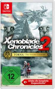 Xenoblade Chronicles 2: Torna - The Golden Country (Switch) für 28€ (eBay & Galaxus)