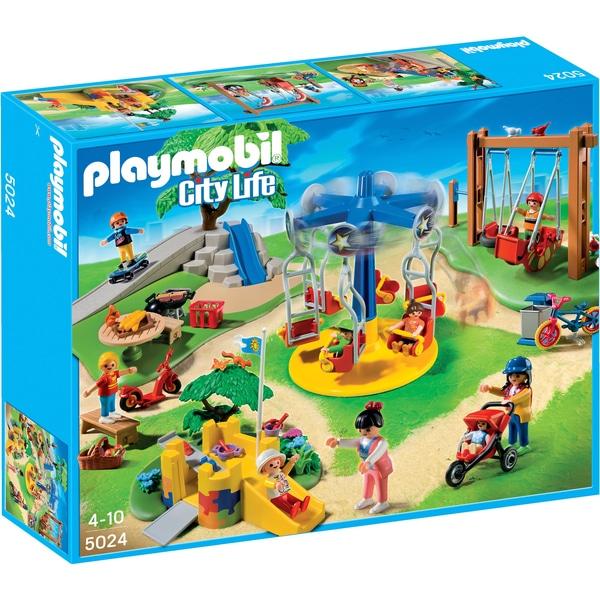 PLAYMOBIL - 5024 Großer Spielplatz bei Smythstoys & Amazon für 29,99€