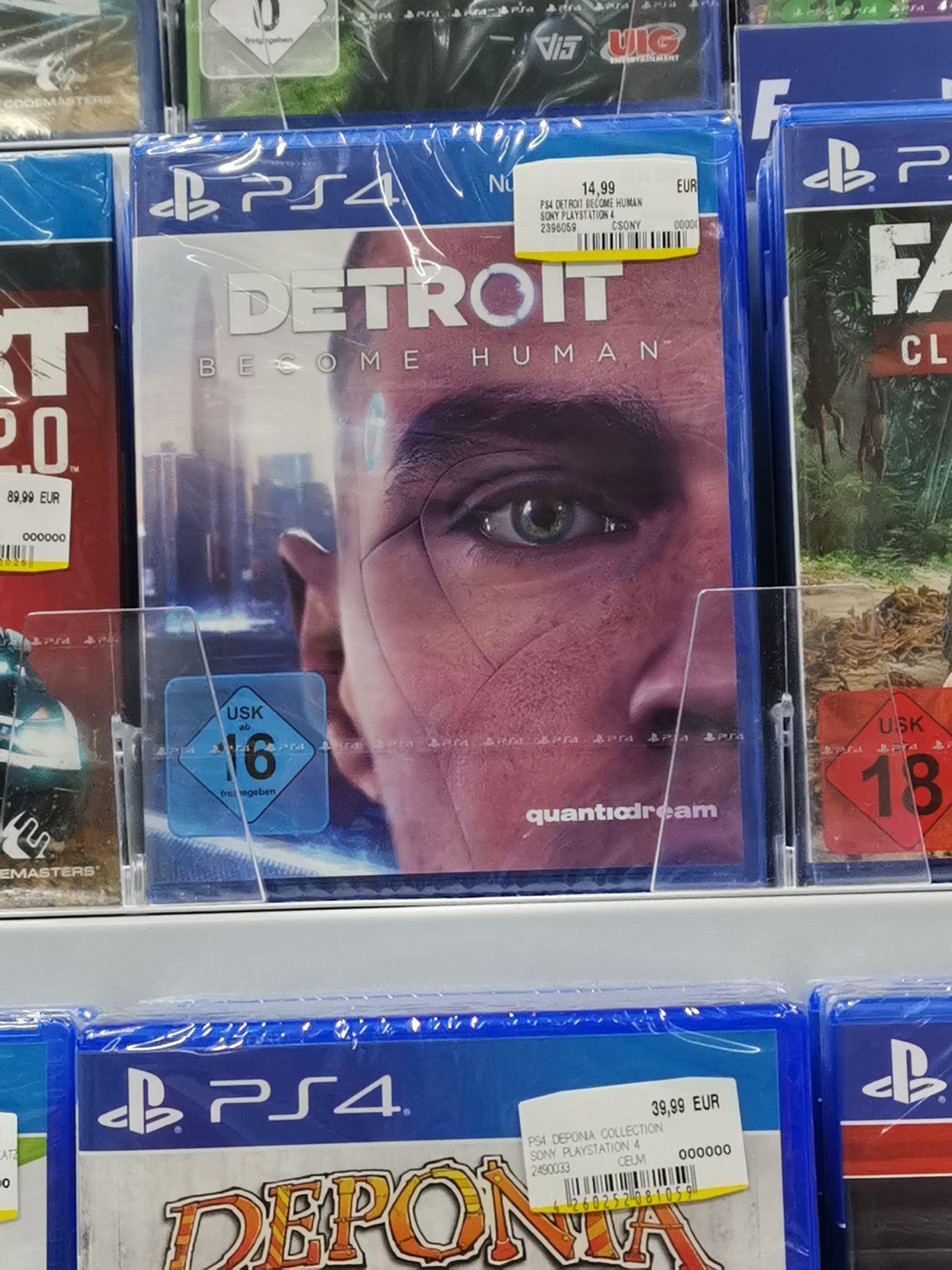 (LOKAL? Media Markt Potsdam) Detroit Become Human PS 4