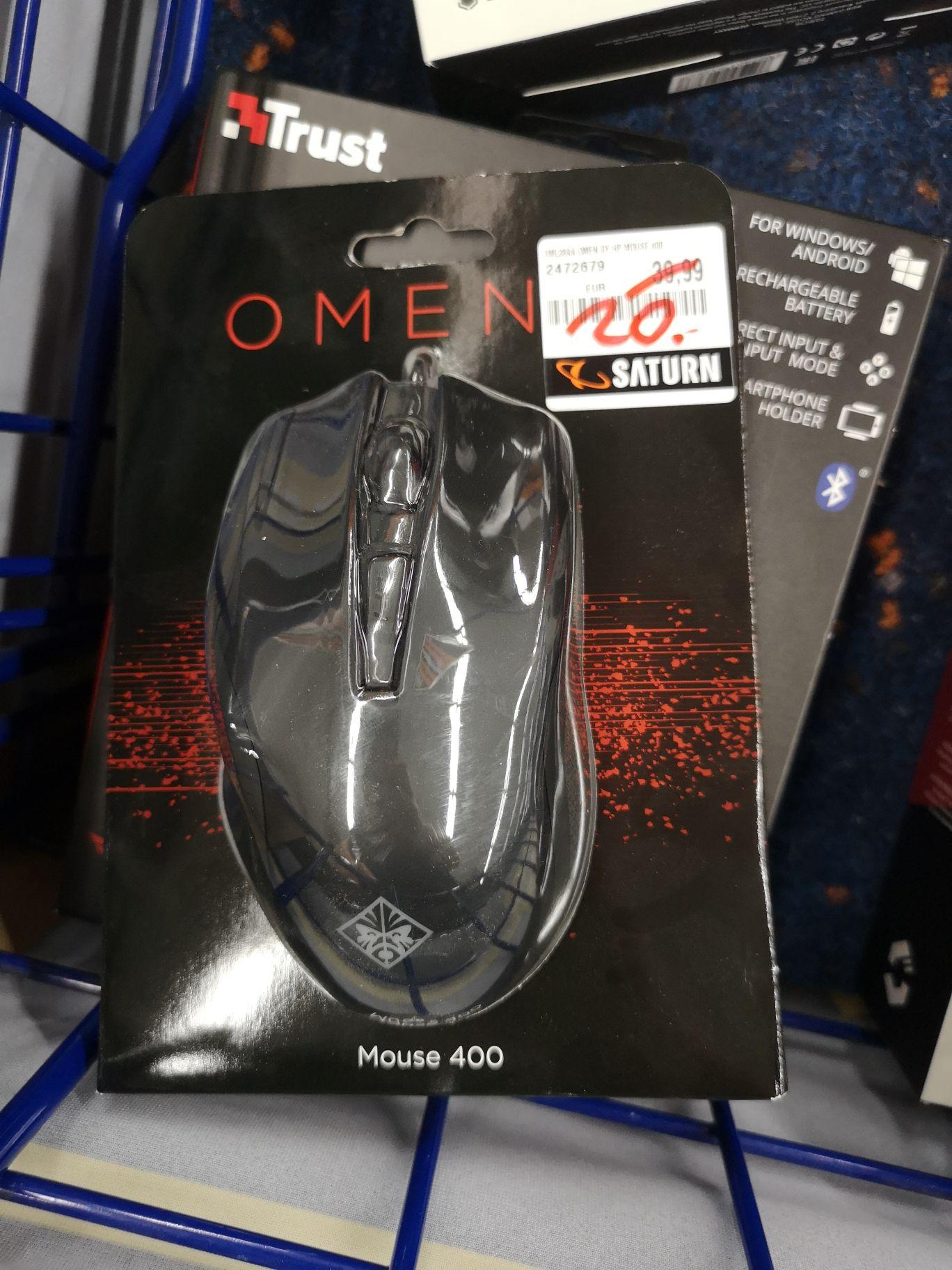 [Lokal Münster Saturn York Center] Omen by HP Mouse 400 für 20€ statt 34€