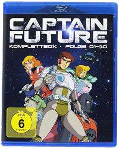 Captain Future - Komplettbox (Blu-ray) für 44€ versandkostenfrei (Media Markt)