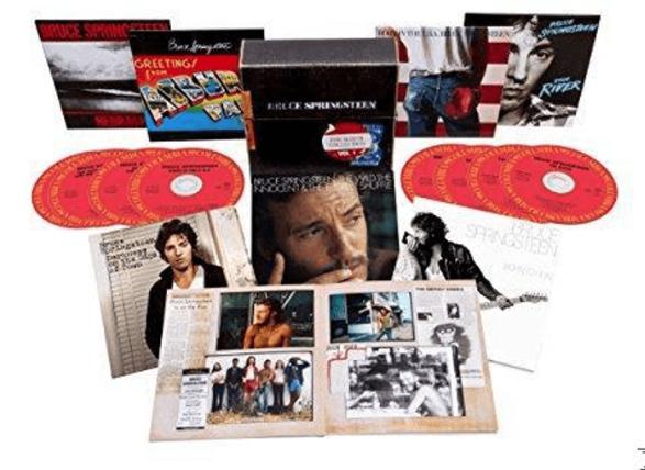 Bruce Springsteen - The Albums Collection Vol.1 (1973-1984) [ 8 x CD] für 24€ (Media Markt App)