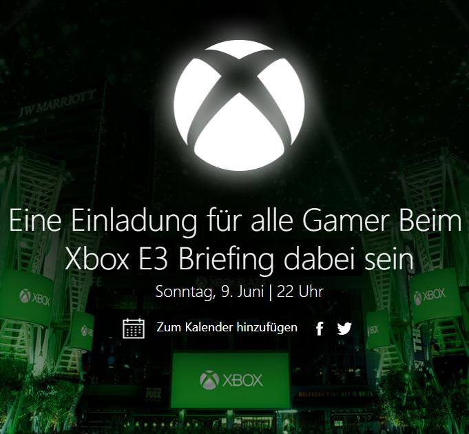 Xbox E3 Briefing - 09.06.2019 / 22 Uhr - Stream & Giveaways via Mixer