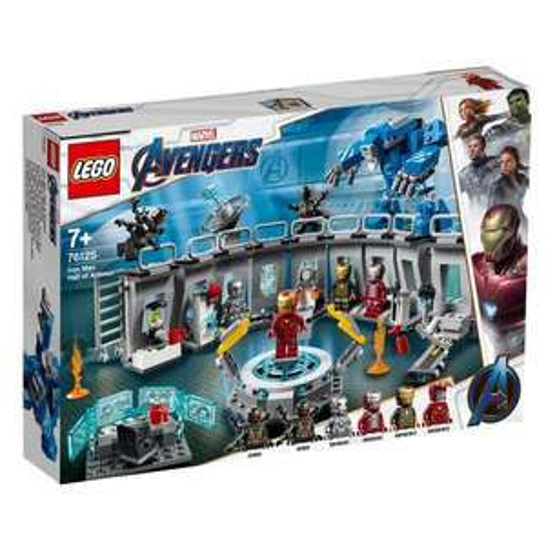 LEGO Marvel Super Heroes 76125 - Iron Mans Werkstatt. Bestpreis !!!!