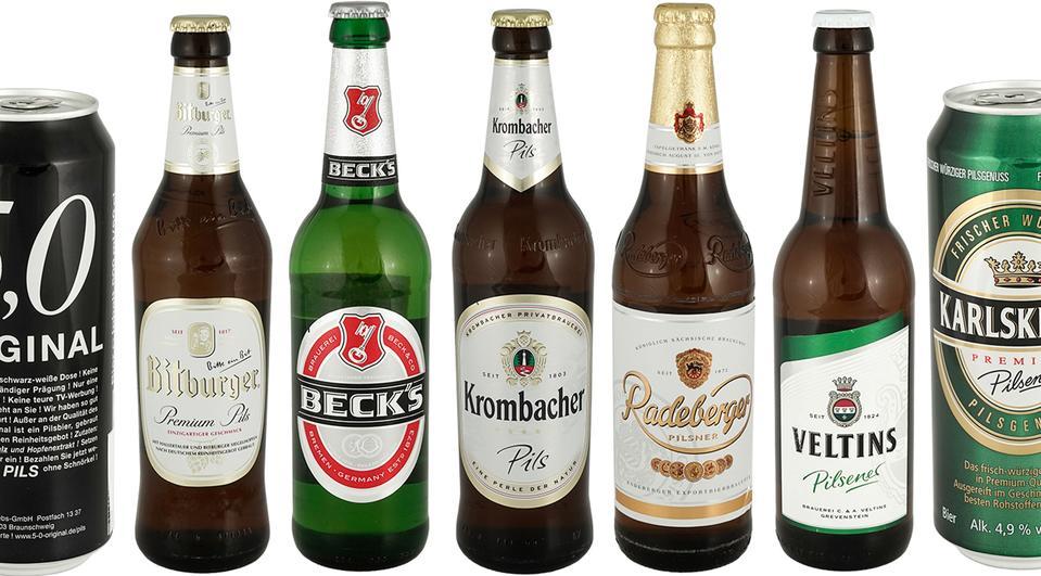 [Öko-Test] Testergebnisse für den neuesten Bier-Test (Pils) vom Mai 2019 gratis einsehen
