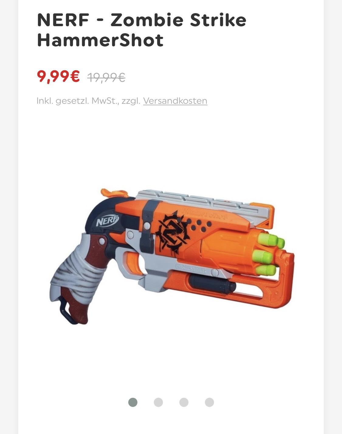 NERF - Zombie Strike HammerShot (SmythsToys) lokal div. Filialen