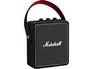 MARSHALL Stockwell II Bluetooth Lautsprecher (IPX4, Bluetooth 5.0, 30W, USB-Type C) Schwarz