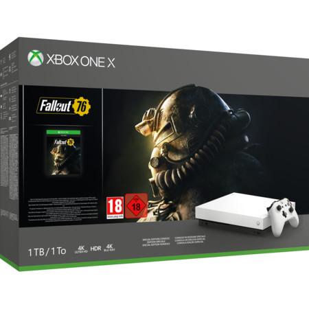 [ Regional Expert Nienburg,Stadthagen,Neustadt] Microsoft Xbox One X 1TB Konsole Robot White Special Edition Fallout 76 Bundle für 311,-€