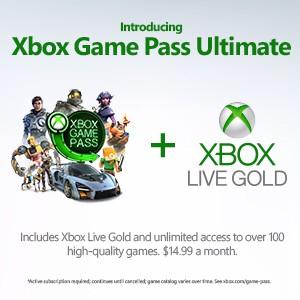 Xbox Game Pass Ultimate für 1€ bis zu 36 Monate möglich