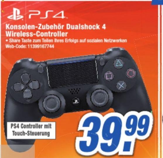 Sony DualShock 4 V2jet black für 39,99€,Spiderman (PS4) 27,99€, Call Of Duty Infinite Warfare 4,99€ [Lokal Neuss]