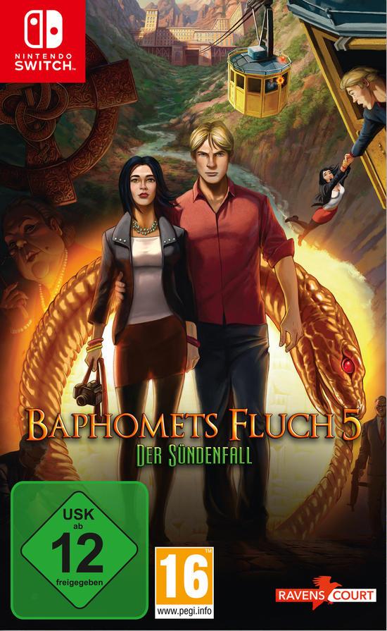 Mein 10K Deal: Baphomets Fluch 5: Der Sündenfall (Switch) für 23€ (GameStop & Amazon Prime)