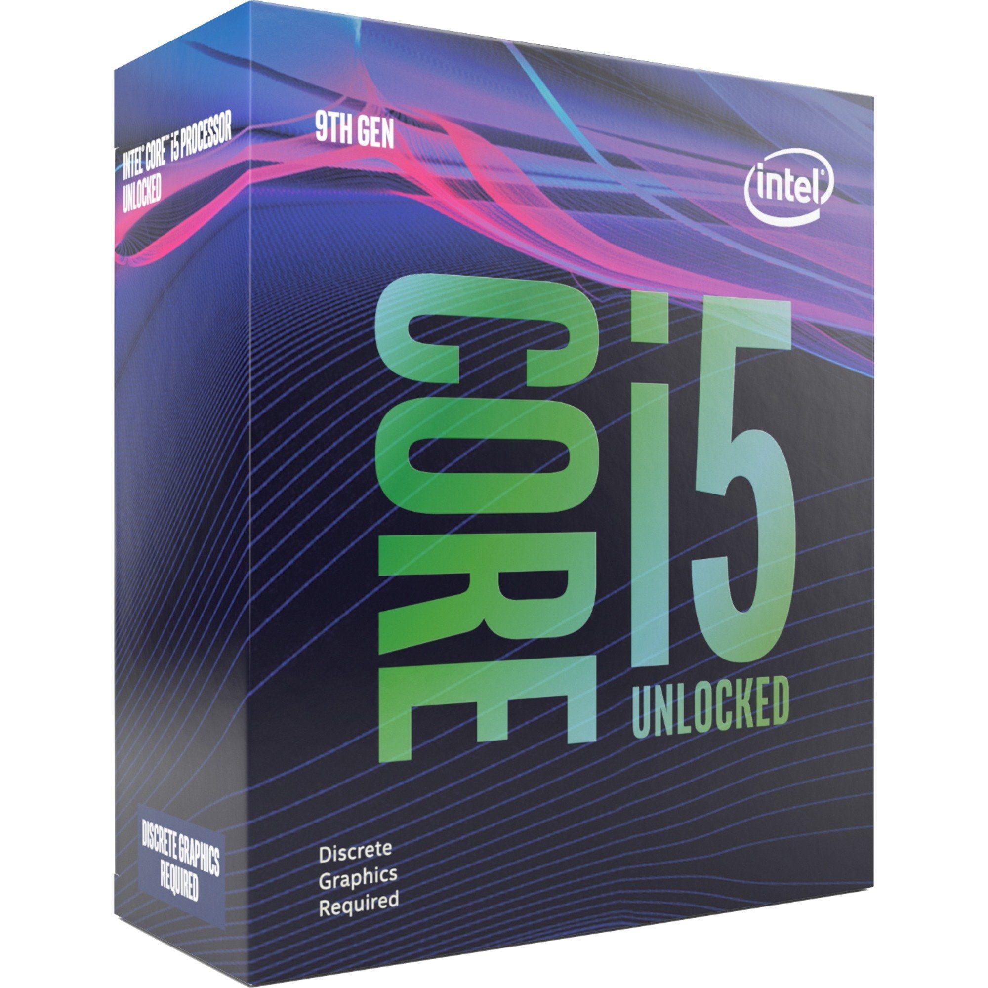 Intel Core i5 9600KF - 3.7 GHz - 6 Kerne - 6 Threads - 9 MB Cache-Speicher - LGA1151 Socket - Box