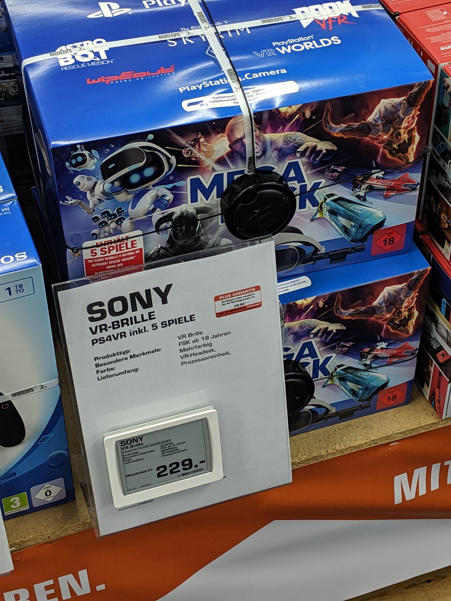 VR-Brille Sony Megapack 5 Spiele - Saturn Osnabrück