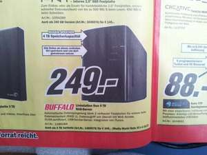 [NAS Server] Buffalo Linkstation Duo 4 TB (249€) oder 6TB (349€) bei Media Markt [offline] und Saturn [On- und Offline]