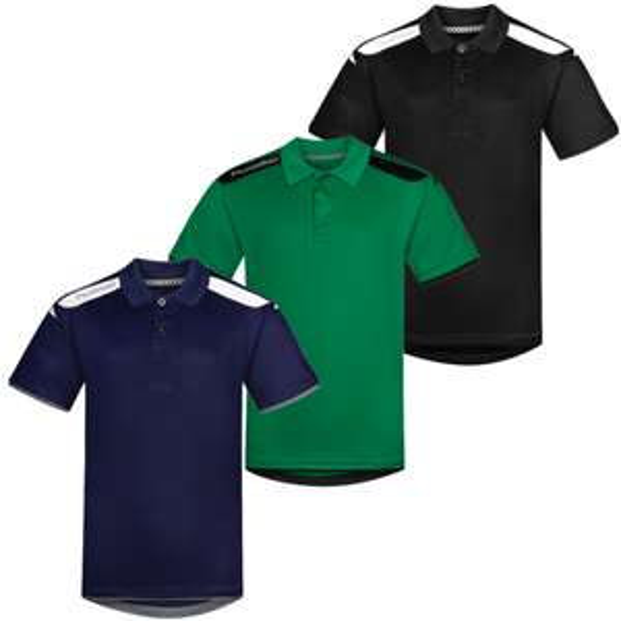 Sale auf hummel Sportklamotten: z.B. hummel Stockholm Poloshirt in 6 versch. Farben (Gr. 116 - 176)