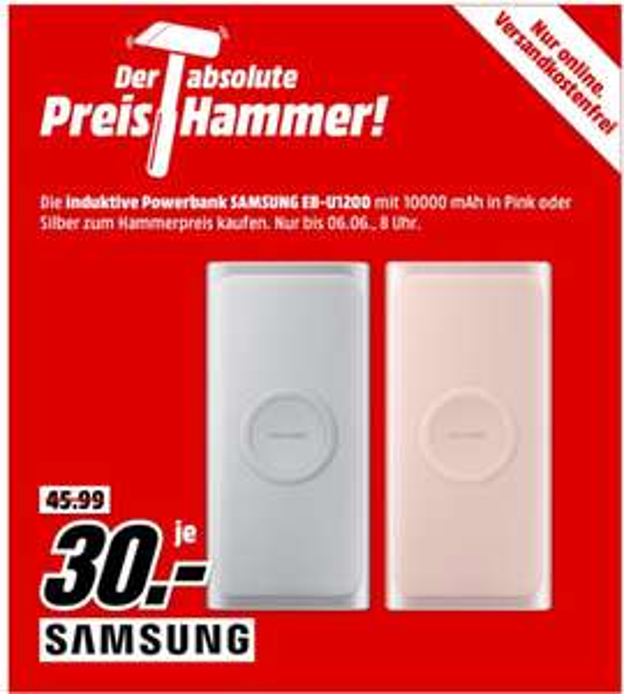 Samsung EB-U1200 induktive Powerbank