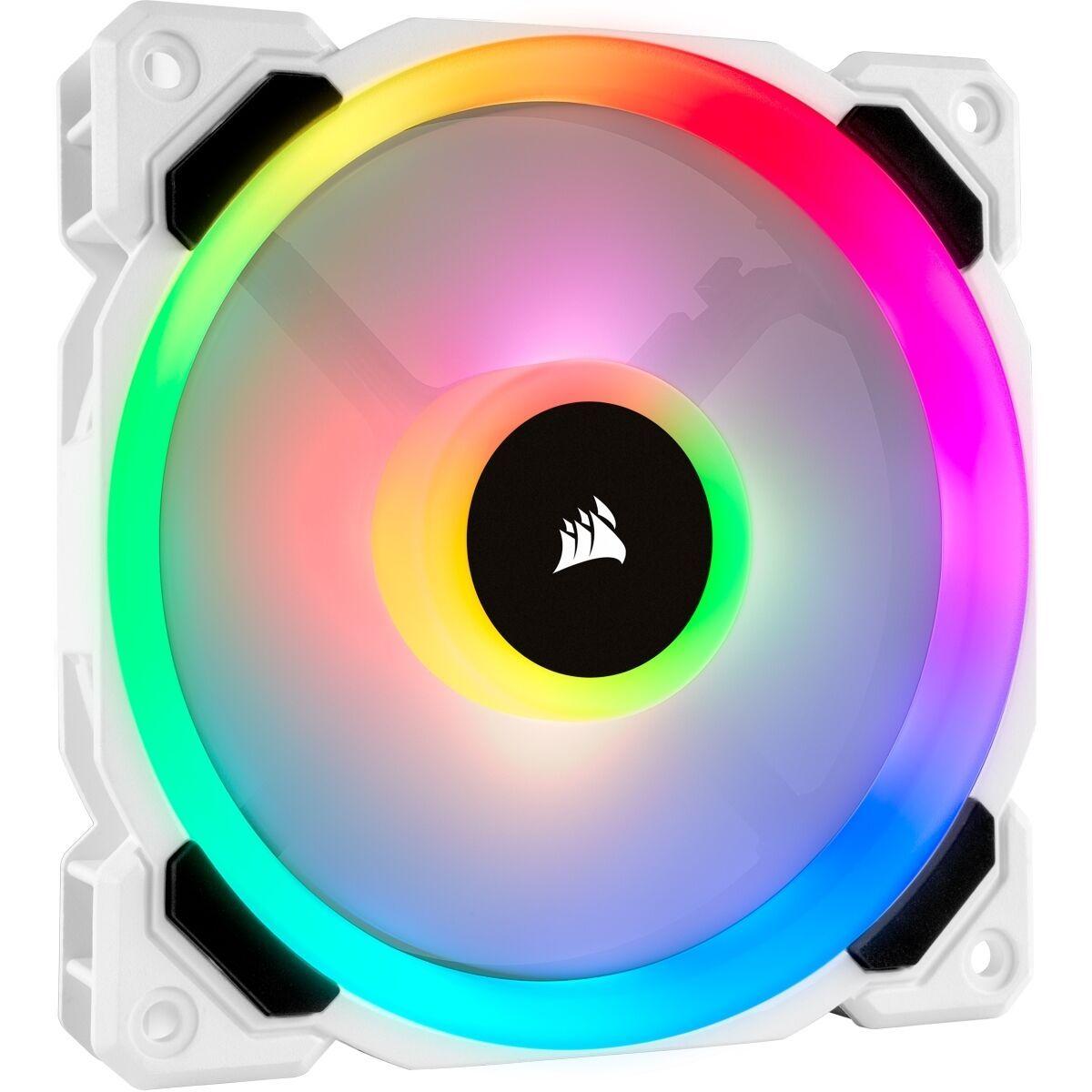 Corsair LL120 RGB-Gehäuselüfter (weiss) | Amazon Prime & Notebooksbilliger