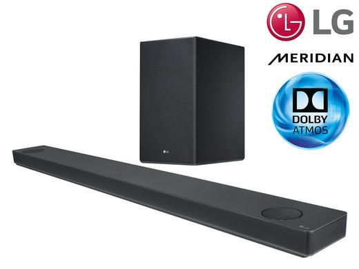 """LG  Dolby Atmos Soundbar """"SK10Y"""" (5.1.2, 550W mit drahtlosem Subwoofer, Meridian Audio) [iBOOD]"""