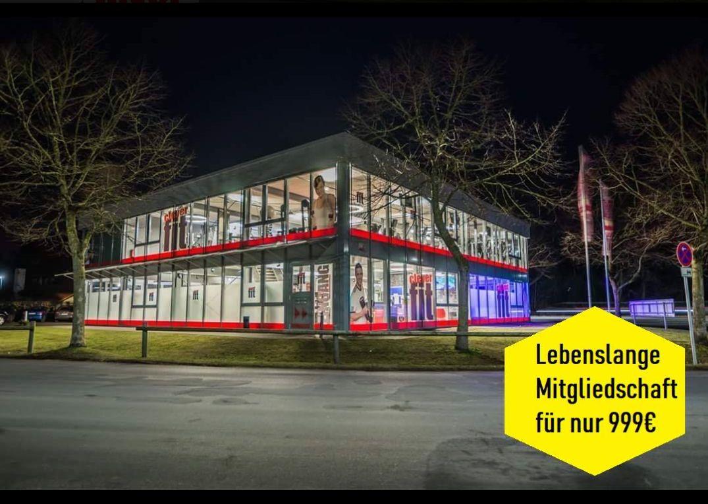[Clever-Fit Rotenburg/Wümme und Schwesterstudios in Norddeutschland) Lebenslange Mitgliedschaft *All in* für 999,-€ *Auch für Mitglieder*