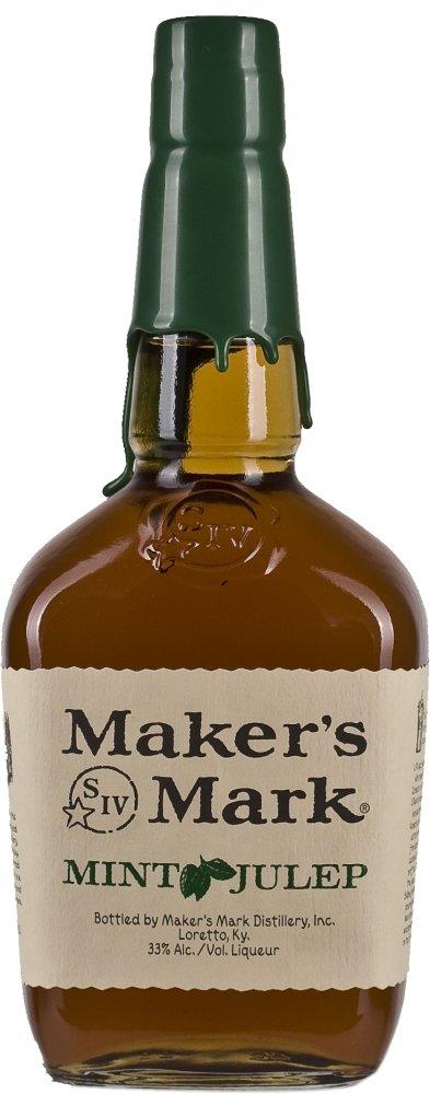 Maker's Mark Mint Julep Bourbon Whiskey Likör (1l 33%) bei [Amazon mit Prime]