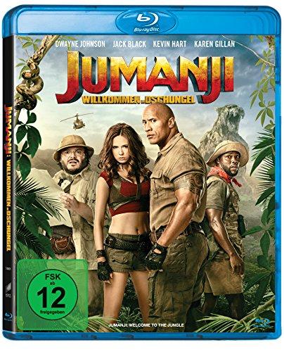 Jumanji: Willkommen im Dschungel (Blu-ray) für 5,55€ (Amazon Prime & Saturn)