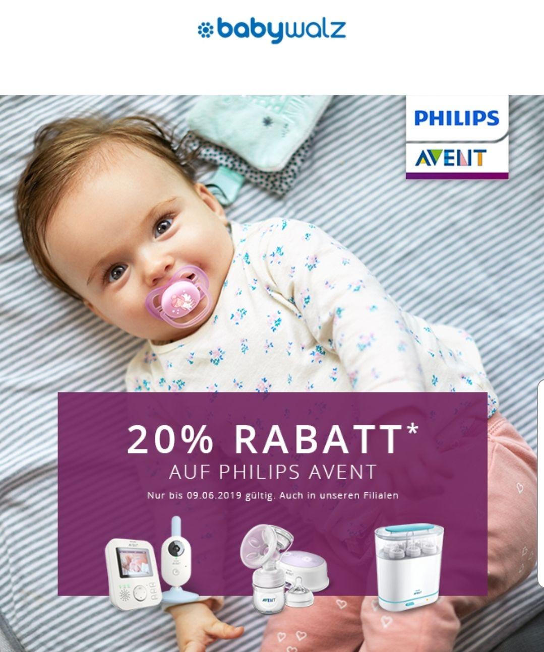 20 Auf Phillips Avent Produkte Babywalz Online Und Offline