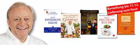[DKB-Club] Vorweihnachtszauber - div. Schuhbeck-Kochbücher für 5000 DKB-Punkte