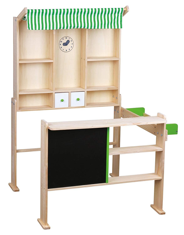Beeboo Kaufladen, hellgrün/weiß, für Kinder ab 3 Jahren, für 20,88 € inkl. Versand @ SMDV.de