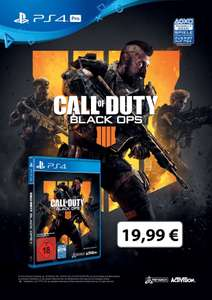 Black Ops 4 PS4/XBOX ONE [LOKAL MM Wiesbaden Äppelallee]