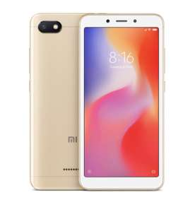 Xiaomi Redmi 6A Global Version 5.45 inch 2GB RAM 32GB ROM Helio A22 MTK6762M Quad core 4G Smartphone Gold