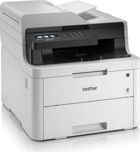 Multifunktions-Farblaserdrucker Brother MFC-L3730CDN (Drucker/Scanner/Kopierer/Fax, A4, 18/18 S/min, ADF, Duplex, USB, LAN, Mobildruck)