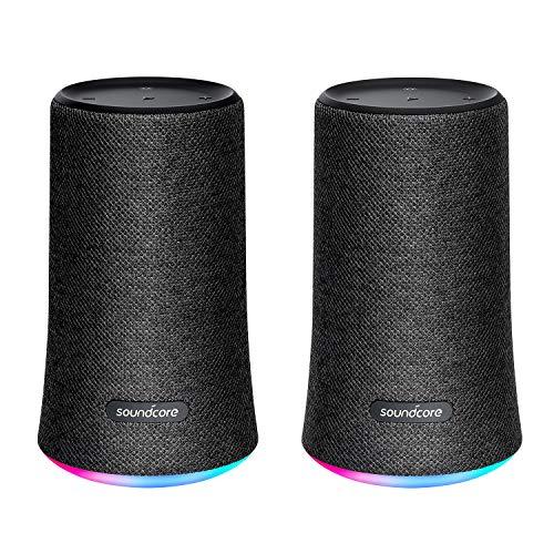 [Amazon] ANKER Soundcore Flare, Bluetooth Lautsprecher, Wasserfest im Doppelpack für 85,99€