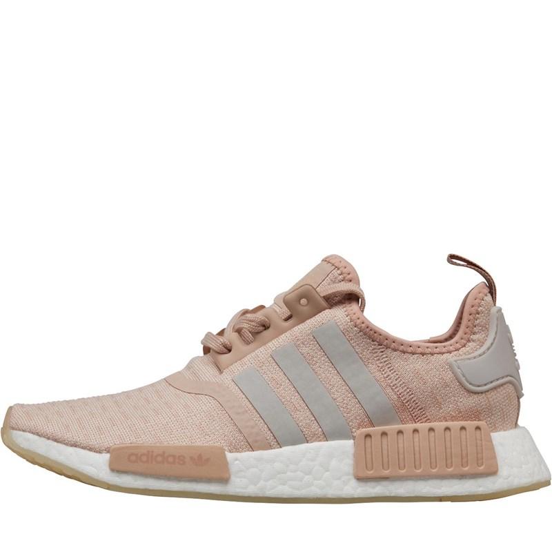 adidas Originals Damen NMD_R1 Sneakers Ecrumeliert