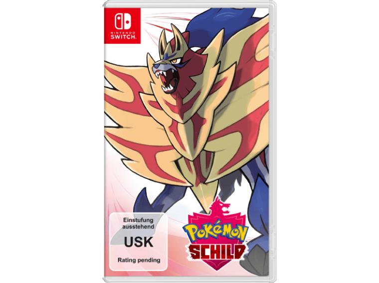 Pokemon Schild (Switch) oder Pokemon Schwert (Switch) für je 5,99€ inkl. Versand