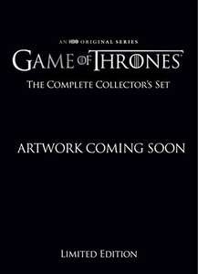 Game of Thrones Complete Collector's Limited Edition Staffeln 1 bis 8 BluRay